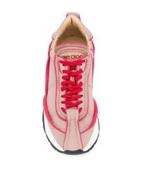 Baskets Raine Jimmy Choo en coloris Pink
