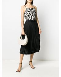 Плиссированная Юбка С Логотипом На Поясе Calvin Klein, цвет: Black