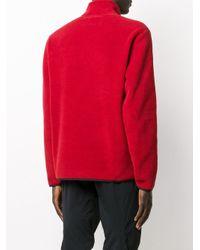メンズ Champion ロゴ スウェットシャツ Red