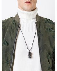 KTZ - Metallic 'whistle' Necklace for Men - Lyst