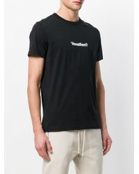 Blood Brother Black Vacation T-shirt for men