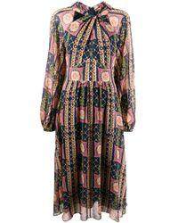 Temperley London Etoile プリント ドレス Multicolor