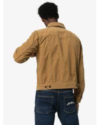 Veste en velours côtelé Saint Laurent pour homme en coloris Brown