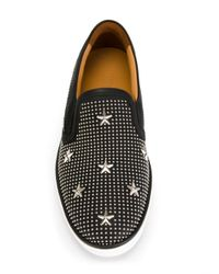 Jimmy Choo - Black Grove Leather Sneakers for Men - Lyst