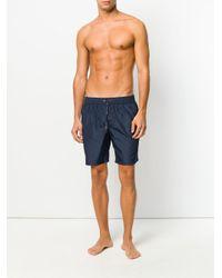 Short de bain à poche zippée Dolce & Gabbana pour homme en coloris Blue