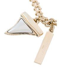Givenchy - Metallic Shark Tooth Bracelet - Lyst