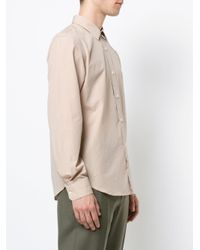Lemaire - Natural Classic Shirt for Men - Lyst