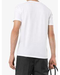 メンズ Tom Ford クルーネック Tシャツ White