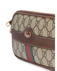 Gucci Ophidia GG Kleine Tas in het Brown