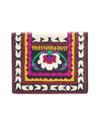 Etro - Multicolor Printed Press-stud Fastening Wallet - Lyst