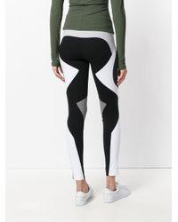 No Ka 'oi - Black Colour Block Leggings - Lyst
