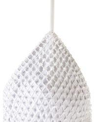 Amir Slama - White Embellished Triangle Bikini Set - Lyst