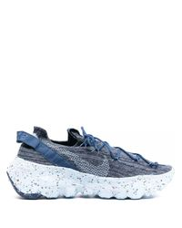 Nike Blue Space Hippie 04 Low-top Sneakers for men