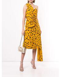 Romance Was Born Cheetah Minx ドレス Yellow