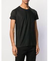 メンズ Uma Wang ジオメトリック Tシャツ Black