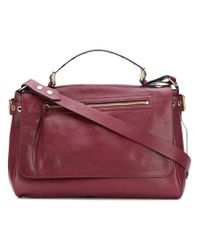 RED Valentino Red(v) Large Smooth Tote Bag