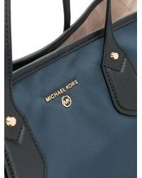 MICHAEL Michael Kors ロゴ ショルダーバッグ Blue
