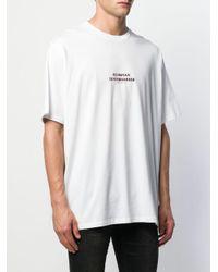 T-shirt Olympian Neil Barrett pour homme en coloris White
