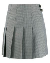 MSGM プリーツスカート Gray
