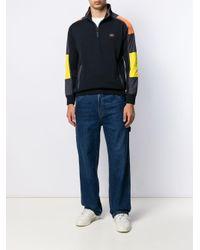 メンズ Paul & Shark カラーブロック ポロシャツ Multicolor