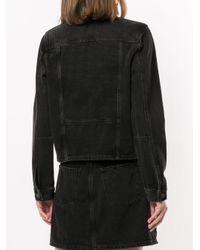 Nobody Denim Black Juncture Denim Jacket