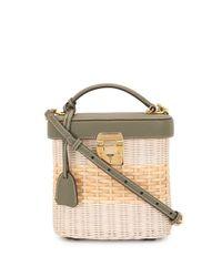 Mark Cross White Benchley Shoulder Bag