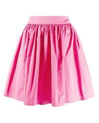 MSGM フレア ミニスカート Pink
