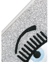 Чехол Flirting С Вышивкой Для Iphone Xs Chiara Ferragni, цвет: Metallic