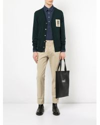 Chemise à patte de boutonnage Kent & Curwen pour homme en coloris Blue