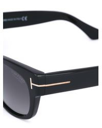Tom Ford Black Square Shaped Sunglasses