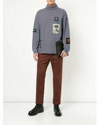 T-shirt a maniche lunghe di Kent & Curwen in Multicolor da Uomo