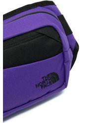 メンズ The North Face ロゴ ベルトバッグ Purple