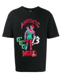 KTZ Satan 666 Tシャツ Black