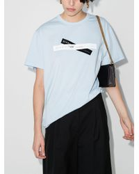Givenchy X Browns ロゴ Tシャツ Blue