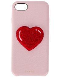 Чехол Для Iphone 7/8 'heart' Chaos, цвет: Red