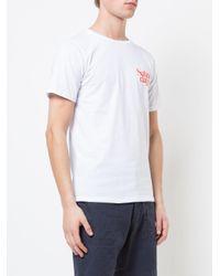 Saturdays NYC White Logo T-shirt for men