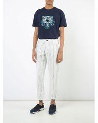 メンズ KENZO プリント Tシャツ Blue