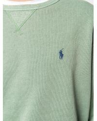 メンズ Polo Ralph Lauren ロゴ スウェットシャツ Green