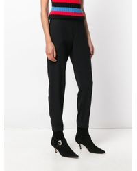 P.A.R.O.S.H. Black Poseidon Trousers