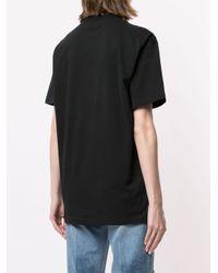 Natasha Zinko プリント オーバーサイズtシャツ Black