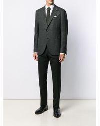 Lardini Black Classic Wool Blazer for men