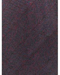 メンズ Lardini パターン ネクタイ Multicolor