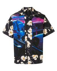メンズ N°21 Hawaiian シャツ Blue