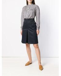 A.P.C. Blue Catherine Skirt