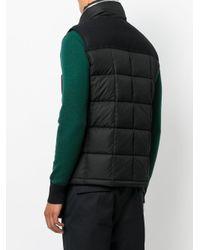 Moncler - Black Gui Quilted Vest for Men - Lyst