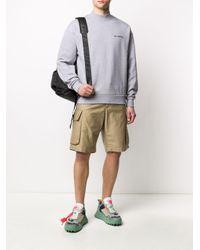 メンズ Daily Paper モックネック スウェットシャツ Multicolor