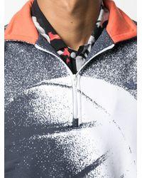 Adidas Streetball ハーフジップ スウェットシャツ Blue