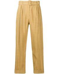 Pantaloni a vita alta di Department 5 in Multicolor