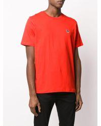 メンズ PS by Paul Smith ゼブラ Tシャツ Orange