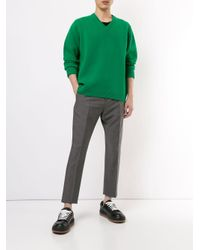 Pantalon crop fuselé N°21 pour homme en coloris Gray